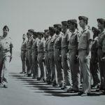 Passage en revue des troupes