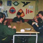 1992 12 - 16 oct campagne de tir-on prepare dur les klif