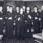 Remise de médailles au mess officiers