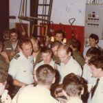 1/11 Départ de Louvion ; remise de cadeau 1983