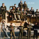 1986 Campagne de tir Cazaux