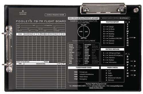 Pooleys FlightBoard FB-7 Klemmbrett
