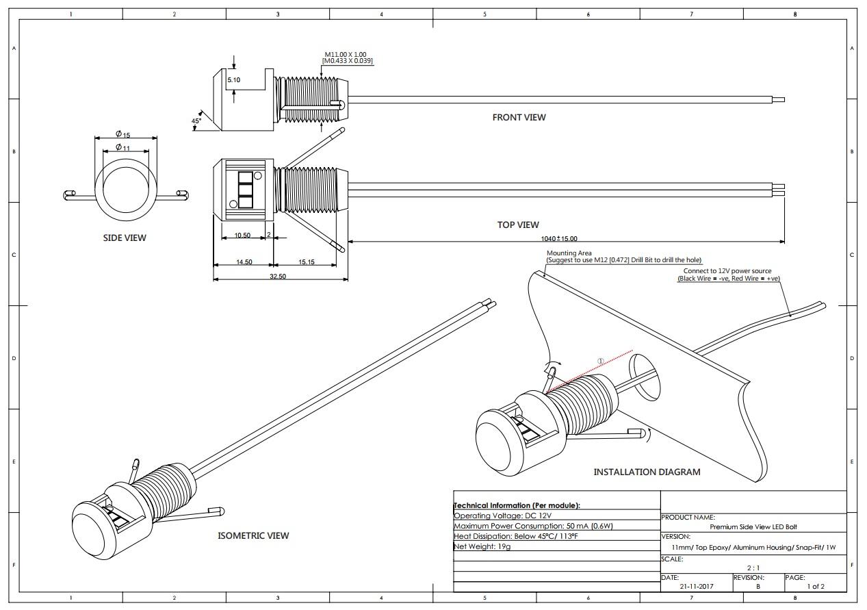 12v Accessory Wiring Diagram Led Indicator Light