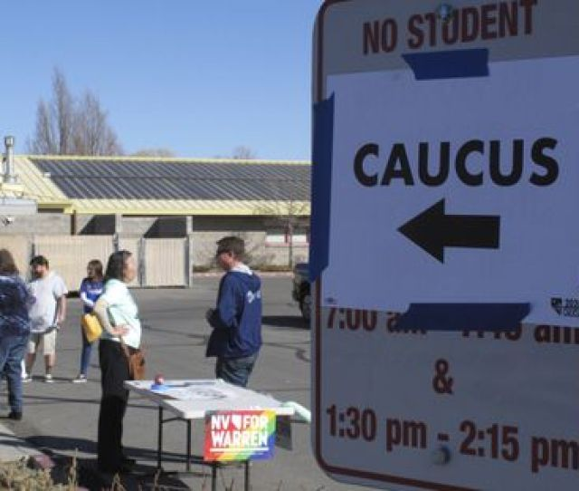 Nevada Caucus Updates Sanders Wins Takes National Democratic