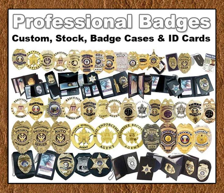 Professional Grade Badges And Badge Cases From Thomas Investigative- www.pimall.com/nais