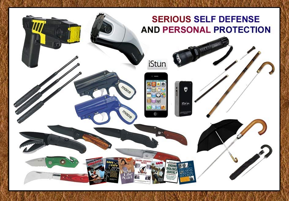 Serious Self Defense And Personal Protection Products From SpyTek- www.pimall.com/nais