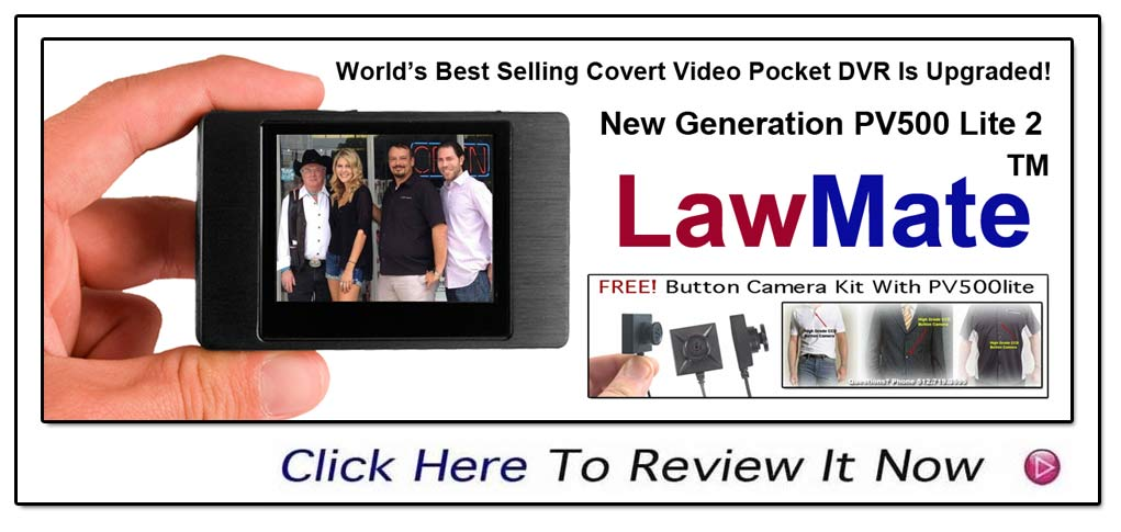 New Generation PV500-Lite From LawMate Upgrade For 2013- FREE Button Camera- Pocket Digital Video Recorder At It's Best- www.pimall.com/nais