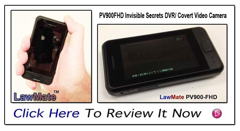 PV900-FHD From LawMate- The Famous Name In Covert Video!