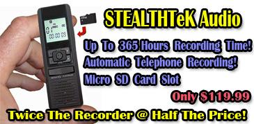 StealthTeK Audio!