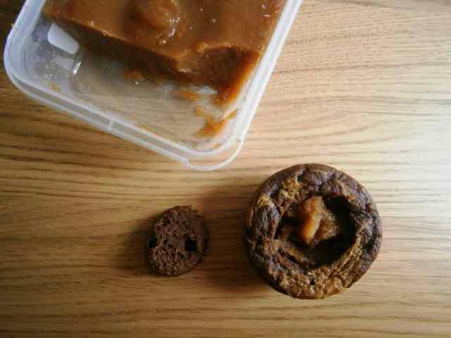 cupcake amendoim cacau