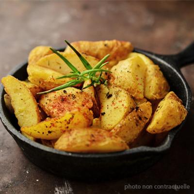 Pommes de terre au Piment d'Espelette