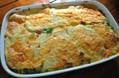 Palmetto Pimento Cheese broccoli casserole