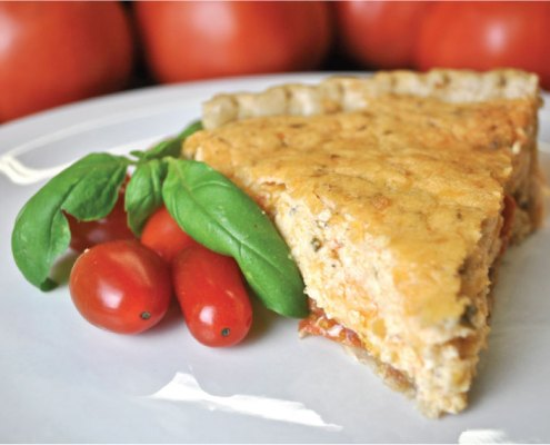 Palmetto Cheese Tomato Pie