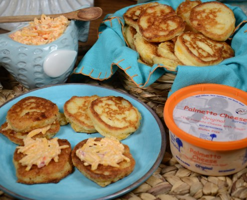 Palmetto Cheese Johnny Cake Hoecake