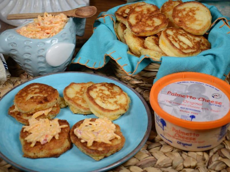 Palmetto Cheese Johnny Cake Hoecake