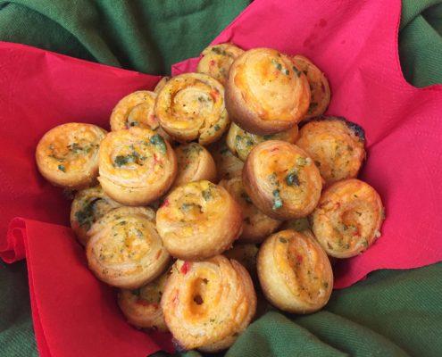 Mini Pinwheels Palmetto Cheese