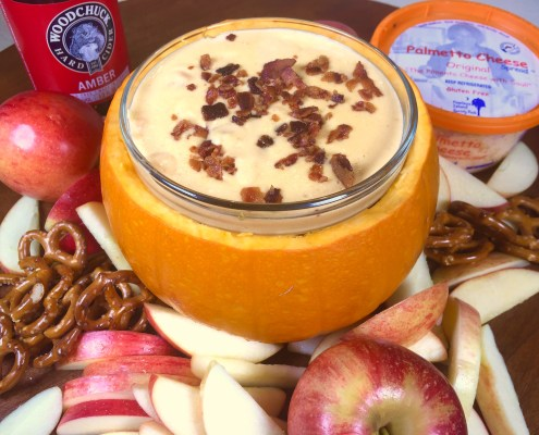 Palmetto Cheese Hard Cider Cheese Dip