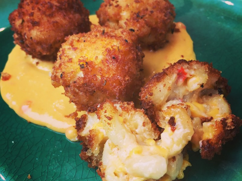 Palmetto Macaroni and Cheese Bites