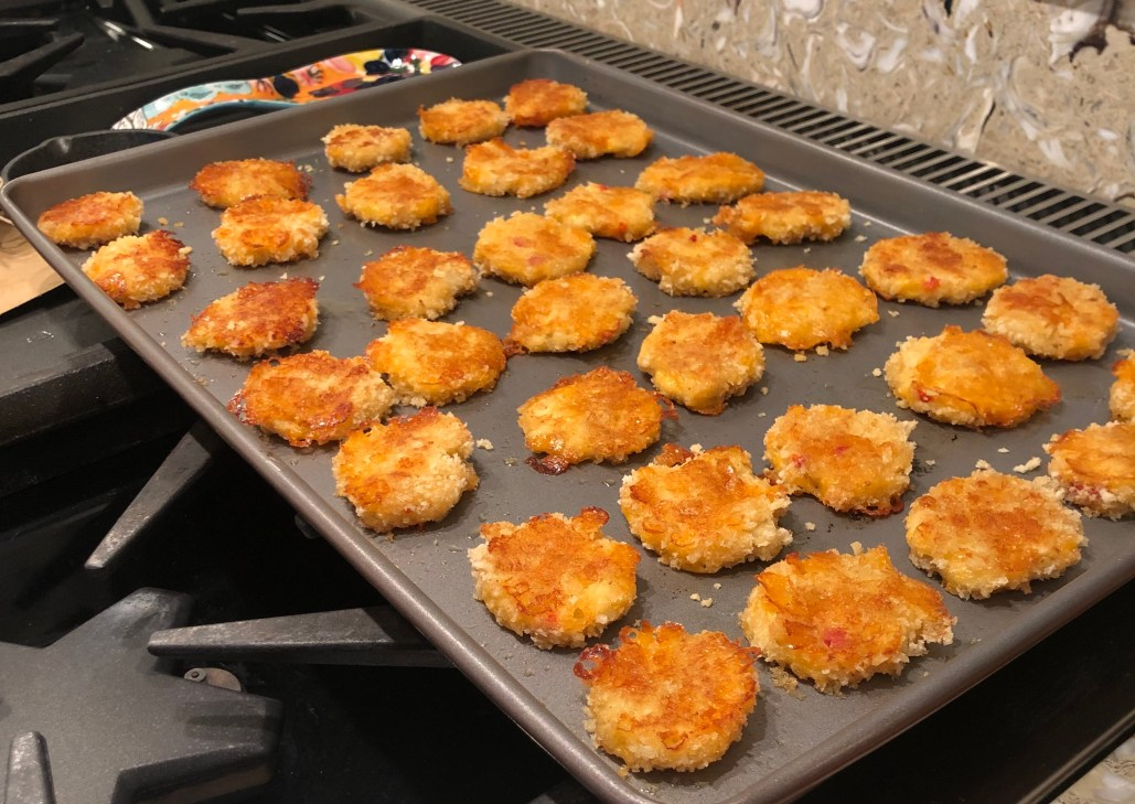 palmetto Cheese crab cakes