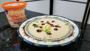 Instant Pot Palmetto Cheese Faux Potato Soup