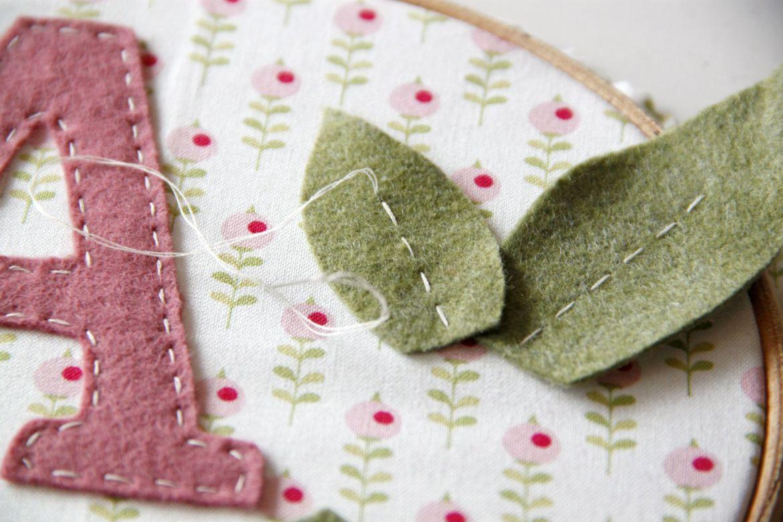 Cuadrito con flores para bebés...o mamás | Pimienta y Purpurina