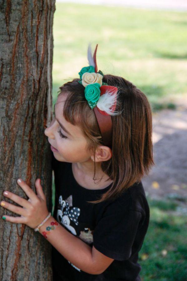 Colección Autumn - orejas de zorro - diadema | Pimienta y Purpurina