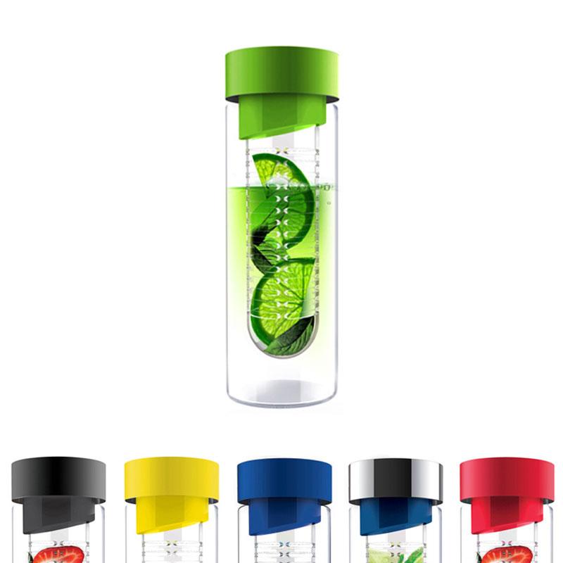flavour it bouteille d eau en verre avec infuseur a fruits 48 cl