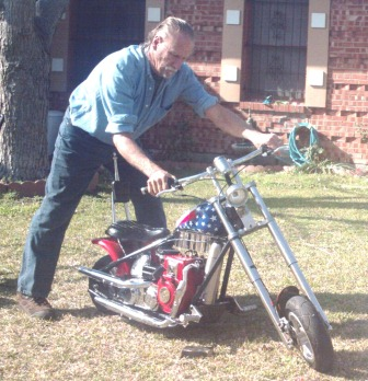 Projects With Lawn Mower Engines Mini Bike Chopper