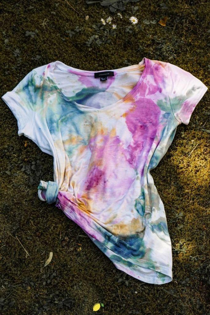 Ice Dye - Kleidung mit Eis färben - Fashion Upcycling