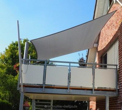 sonnensegel für den balkon in premium qualität | pina design®