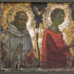 Niccolò di Segna (Siena, ? - 1348 ca.), San Benedetto e San Galgano