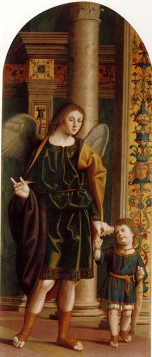 Marco Palmezzano, Tobiolo e l'Arcangelo Raffaele