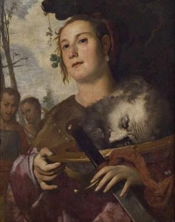 Bernardo Strozzi, attr. (Genova, 1581 - Venezia, 1644), Giuditta con la testa di Oloferne
