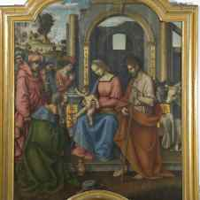 Giovanni Battista Bertucci il Vecchio, bottega di (Faenza, 1470 ca. - 1516), Adorazione dei Magi