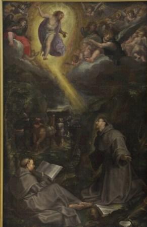 Filippo Bellini, San Francesco riceve le stimmate