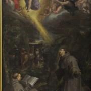 Filippo Bellini (Urbino, 1550 ca. - Macerata, 1603), San Francesco riceve le stimmate