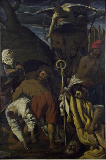 Biagio (?) Manzoni, Martyrdom of St. Eutropius