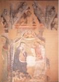 Maestro di San Pier Damiano (Guglielmo di Guido ?), Incoronazione della Vergine e Santi, Cristo morto e Annunciazione