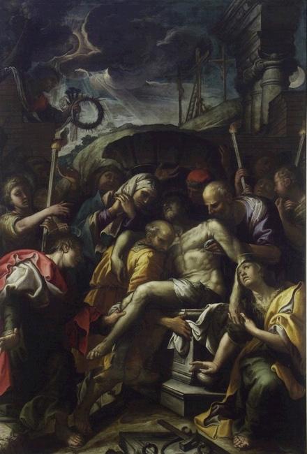 Ferraù Fenzoni, The burial of Christ in the sepulchre