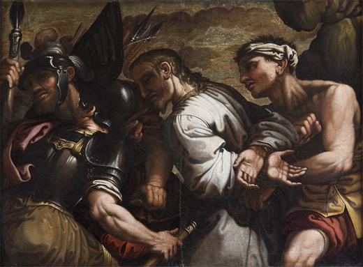 Ferraù Fenzoni, Cristo condotto al calvario
