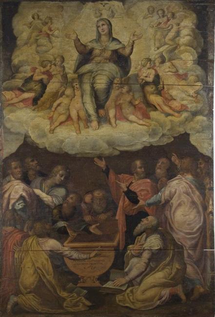 Giovanni Battista Armenini, Assunzione della Madonna