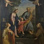 Benedetto Marini, Ritorno dalla Fuga in Egitto con i Santi Caterina d'Alessandria e Francesco
