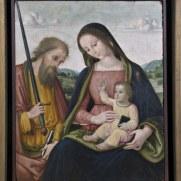 Giovanni Battista Bertucci sr., Madonna col Bambino e S. Paolo