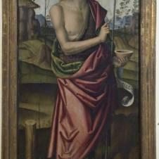 Giovanni Battista Bertucci il Vecchio, bottega di (Faenza, 1470 ca. - 1516), San Giovanni Battista