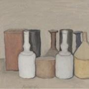 Giorgio Morandi (Bologna, 1890 - 1964), Natura morta