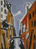 Giulio Turcato, Venezia, 1950