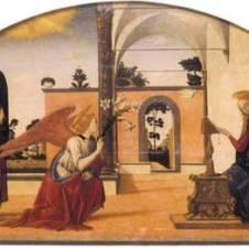 Biagio d'Antonio da Firenze (Firenze, 1446 ca. - documentato fino al 1510), Annunciazione