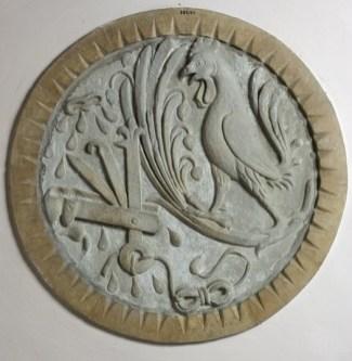 Anonimo Sec. XIV, Impresa araldica di Astorgio I Manfredi