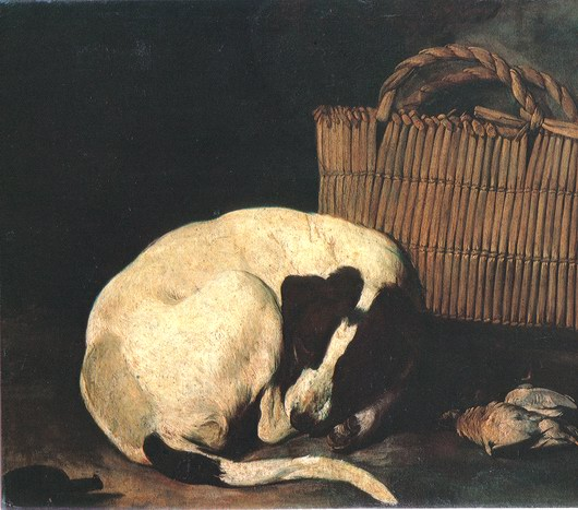 Resani Arcangelo, Dog and basket