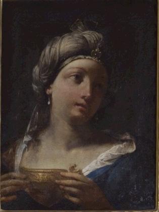 Giovanni Gioseffo Dal Sole, Artemisia drinking her husband's ashes,